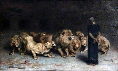 Rivière, Briton - Daniel in the Lion's Den