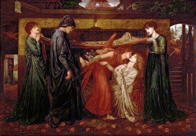 Rossetti, Dante Gabriel - Dante's Dream