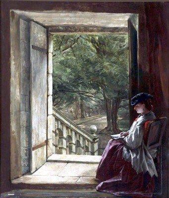 Creswick, Thomas - Dorothy Vernon's Doorway, Haddon Hall
