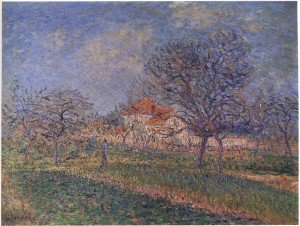 Gustave Loiseau - Trees in Bloom