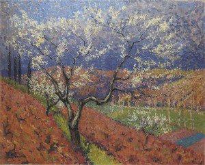 Henri Martin - Trees in flower