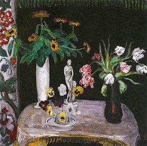 Florine Stettheimer - Flowers with Aphrodite
