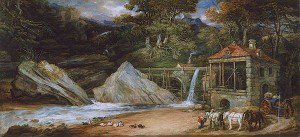 James Ward - An Overshot Mill in Wales