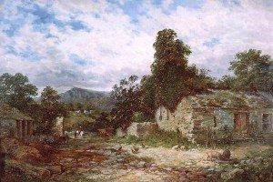 Samuel Henry Baker - Cymmer Abbey, near Dolgellau