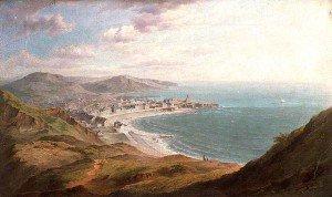 William Ward Gill - Aberystwyth from Constitution Hill