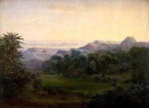 Johann Martin Bernatz - Afforbina, near Ankobar, 1842