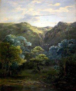 Johann Martin Bernatz - Forest Scene near Ankobar