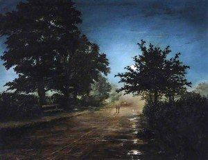 Thomas Bonfrey Burton - After a Rainy Day
