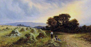 Walter Heath Williams - Haymaking