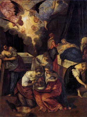 Tintoretto - Birth of St John the Baptist