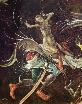 Bosch, Hieronymus - Triptych of Last Judgment (detail)