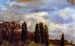 Adolph von Menzel - View over Prince Albert's Palace Park