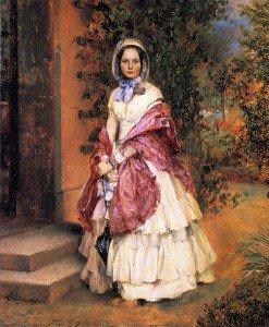 Adolph von Menzel - Clara Ilger, later Frau Schmidt von Knobelsdorf