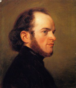 Friedrich Eduard Meyerheim - Adolph Menzel as a Young Man