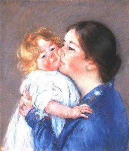 Mary Cassatt - A Kiss for Baby Ann (no.2)