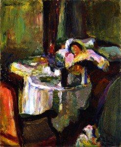 Henri Matisse - The Sick Woman