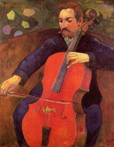 Paul Gauguin - The Cellist