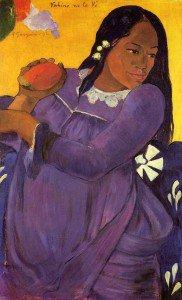 Paul Gauguin - Vahine no te vi