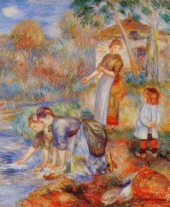 Pierre Auguste Renoir - Laundresses
