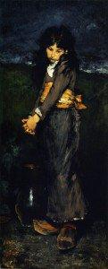 William Merritt Chase - The Broken Jug