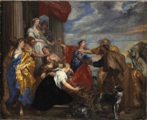 Jan Boeckhorst - Achilles Amongst the Daughters of Lycomedes