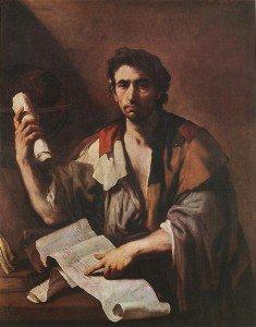 Luca Giordano - A Cynical Philosopher
