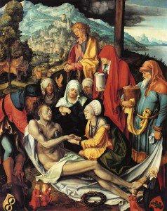 Albrecht Dürer - Lamentation for Christ