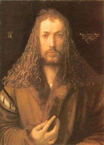 Albrecht Dürer - Self Portrait in a Fur-Collard Robe