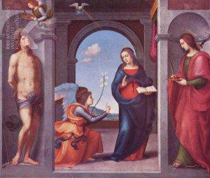 Mariotto Albertinelli - Annunciation
