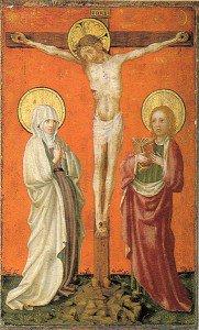 Stefan Lochner - The Crucifixion