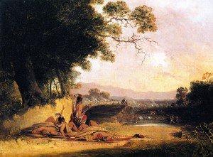 Joshua Shaw - Reedy River Massacre