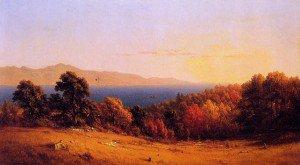 Sanford Robinson Gifford - Lake Scene