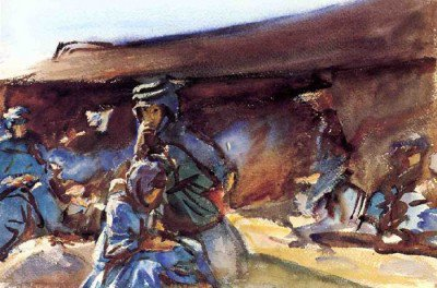 Sargent, John Singer - Black Tent