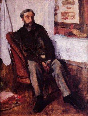 Degas, Edgar - Portrait of a Man