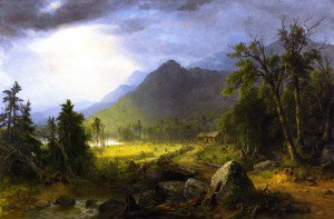 Asher Brown Durand - The First Harvest in the Wilderness
