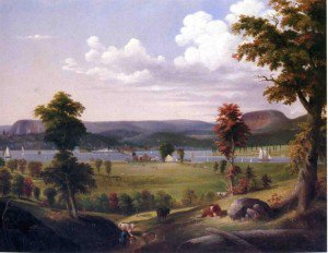 George Henry Durrie - Summer Landscape Near New Haven, View from East Haven