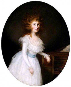 Francis Alleyne - Mary McDonald Chichester, Wife of Thomas Hugh Clifford Constable