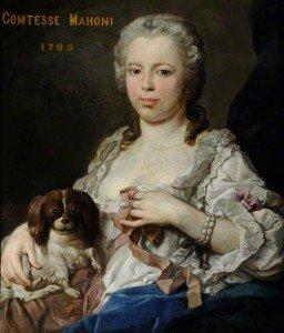 Pompeo Batoni - Portrait of Lady Anne Clifford, Countess Mahoni
