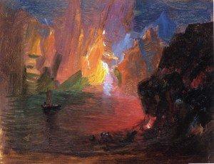 Frederic Edwin Church - Iceberg Fantasy