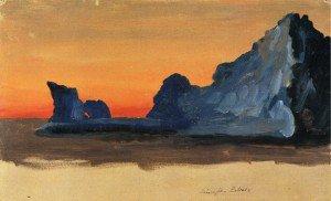 Frederic Edwin Church - Icebergs at Midnight, Labrador