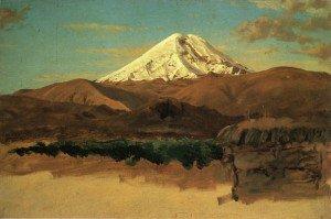 Frederic Edwin Church - Mount Chimborazo, Ecuador