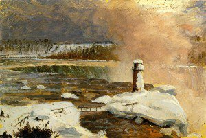 Frederic Edwin Church - Niagara Falls and Terrapin Tower