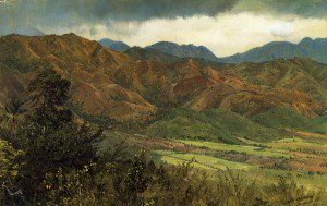 Frederic Edwin Church - Red Hills near Kingston, Jamaica