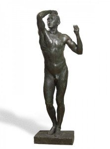 Auguste Rodin - Figure of a Man Standing