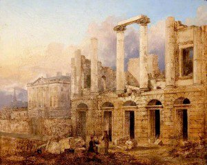 Andrew Donaldson - Old Theatre Royal, Queen Street, after the Fire in January 1829