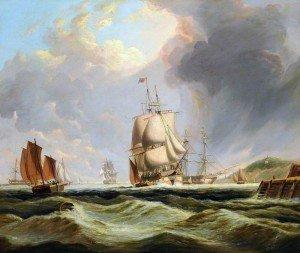 George Paul Chambers, Sr. - Sailing Ships