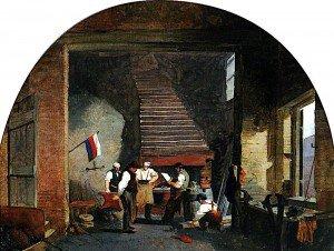 Godfrey Sykes - A Smith's Shop