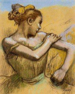Edgar Degas - Torso of a Dancer