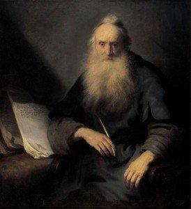 Jan Lievens - The Apostle Paul