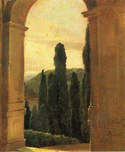 Friedrich Nerly - Villa d'Este
